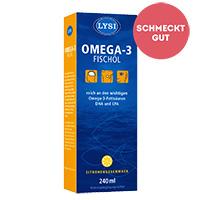 SAGUNA LYSI Omega 3 Fischöl