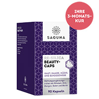 SAGUNA RE-Silica Beauty Caps, 90 Stück