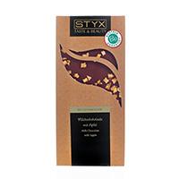 STYX Milchschokolade mit Apfel bio